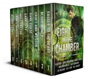 box cover art for Eight in the Chamber