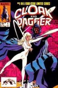 Cloak and Dagger comic cover